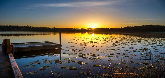 Hummel Lake, Lopez Island