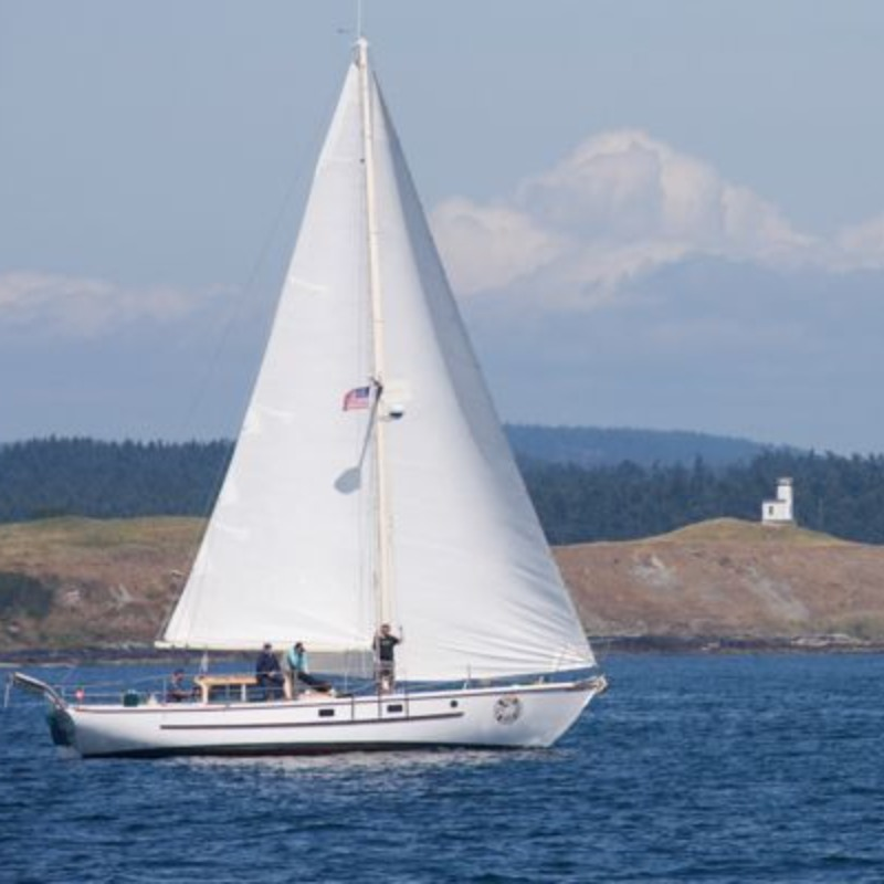 All Aboard Sailing  Whale Watching - Peniel at Lime Kiln