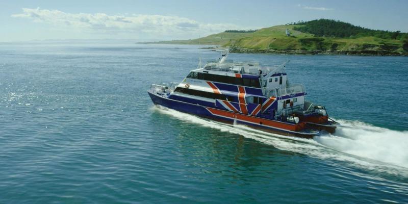 Seattle to San Juan Islands Clipper Ferry