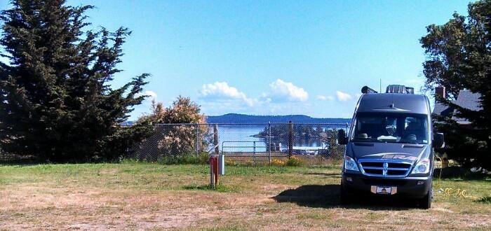 Lodging, Camping, Friday Harbor San Juan Island