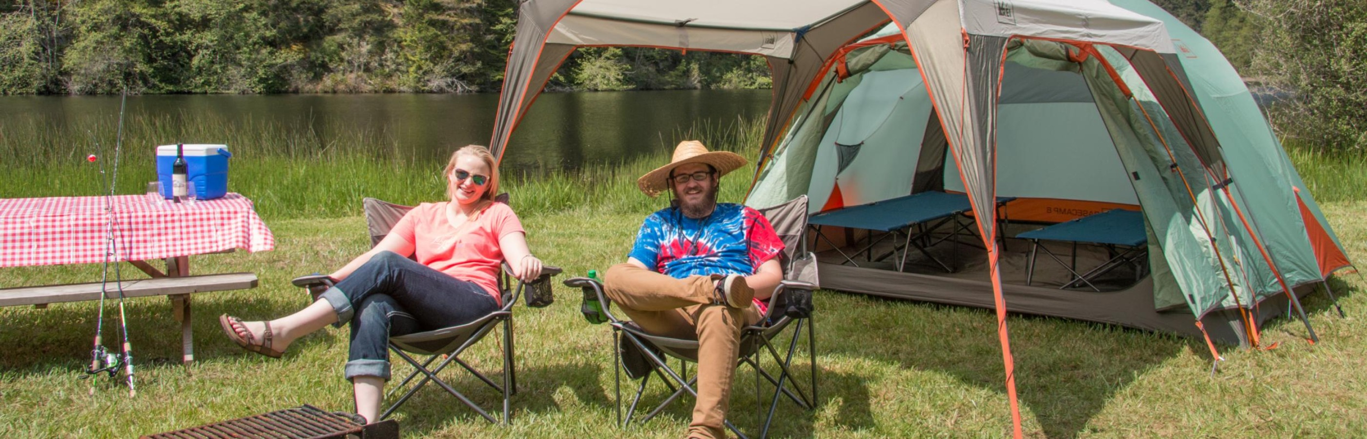 Camping E-Z at Lakedale Resort