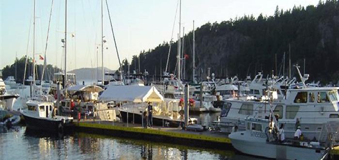 Marina, Boating, Orcas Island