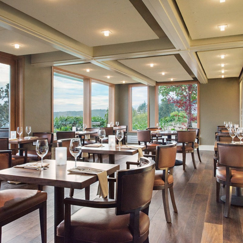 Dine for a Cause - Friday Harbor House Restaurant - Dining Room