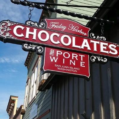 Friday Harbor Chocolates - Signage