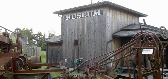 Antique Farming Implements at Lopez Historical Museum