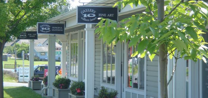 Lopez Village shops