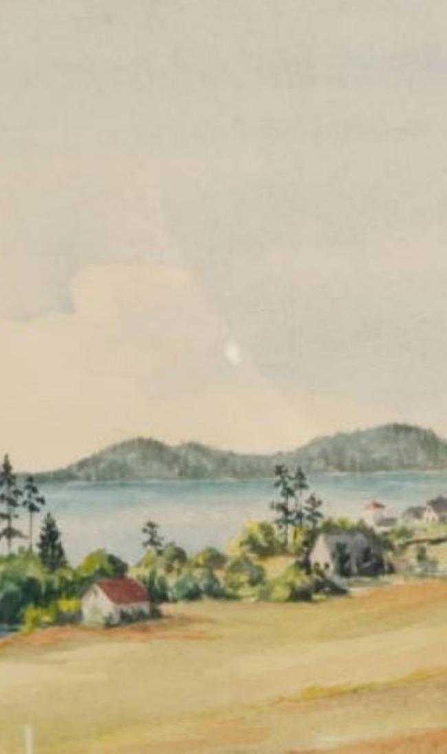 Marjorie Walker -  Painting Old Argyle