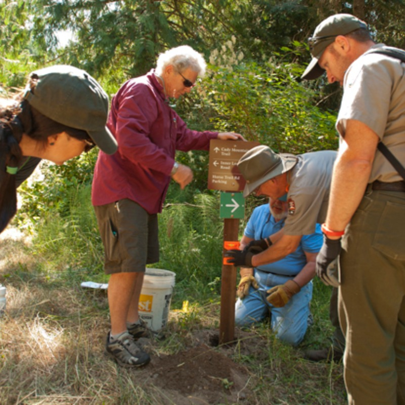 Trails Workshop Set for Mitchell Hill Volunteers