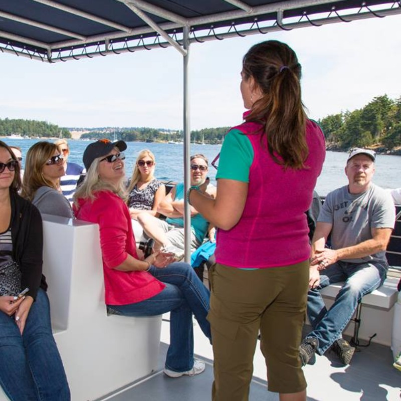 fun and personable marine naturalists on every San Juan Safaris Whale Watch tour