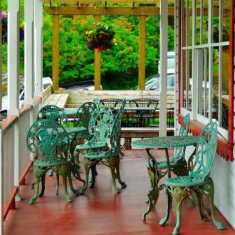 Orcas Hotel - Front Porch