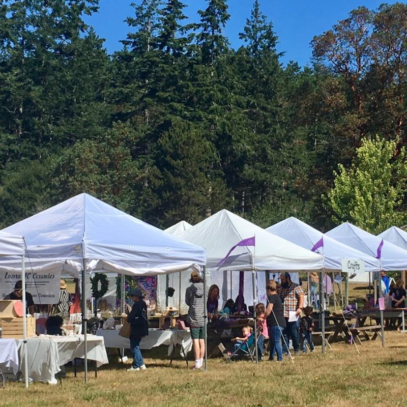 Pelindaba Lavender Farm -  Festival Artists Tents - Photo by Carole Sue Conran Photography