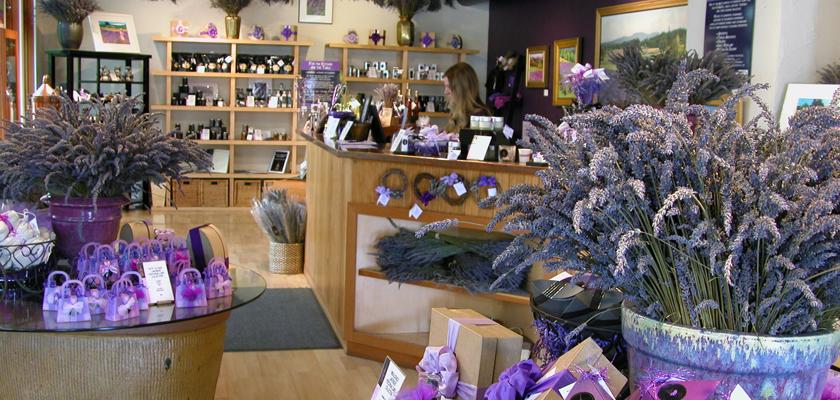 Pelindaba Lavender Farm Store on San Juan Island