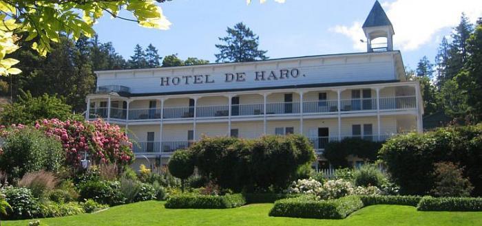 Hotel De Haro at Roche Harbor Resort, San Juan Island, Washington State