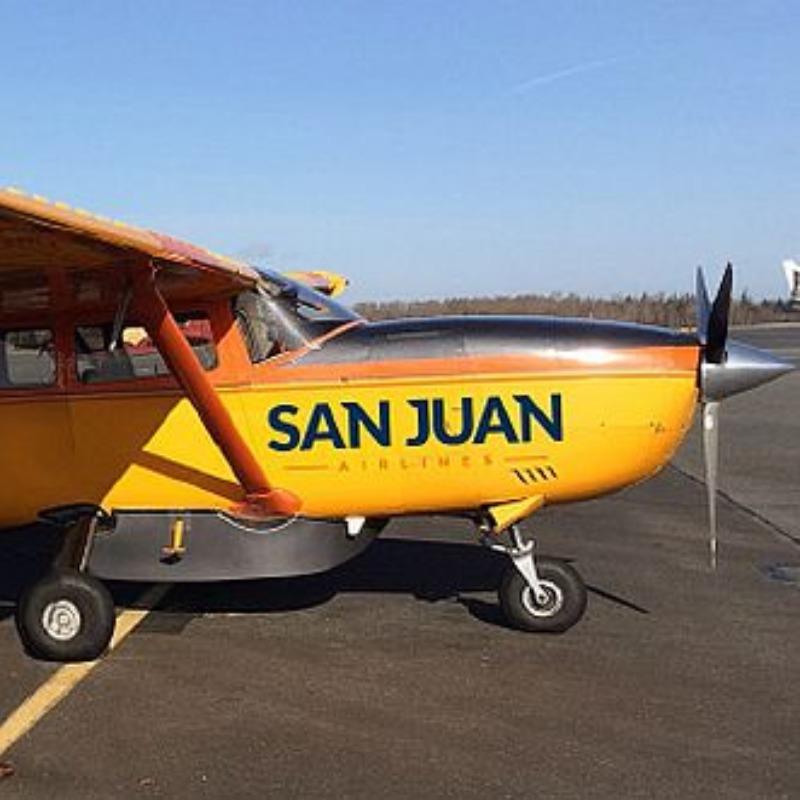 San Juan Airlines - new San Juan plane