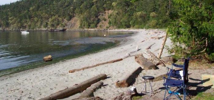 Camping - Lopez Island