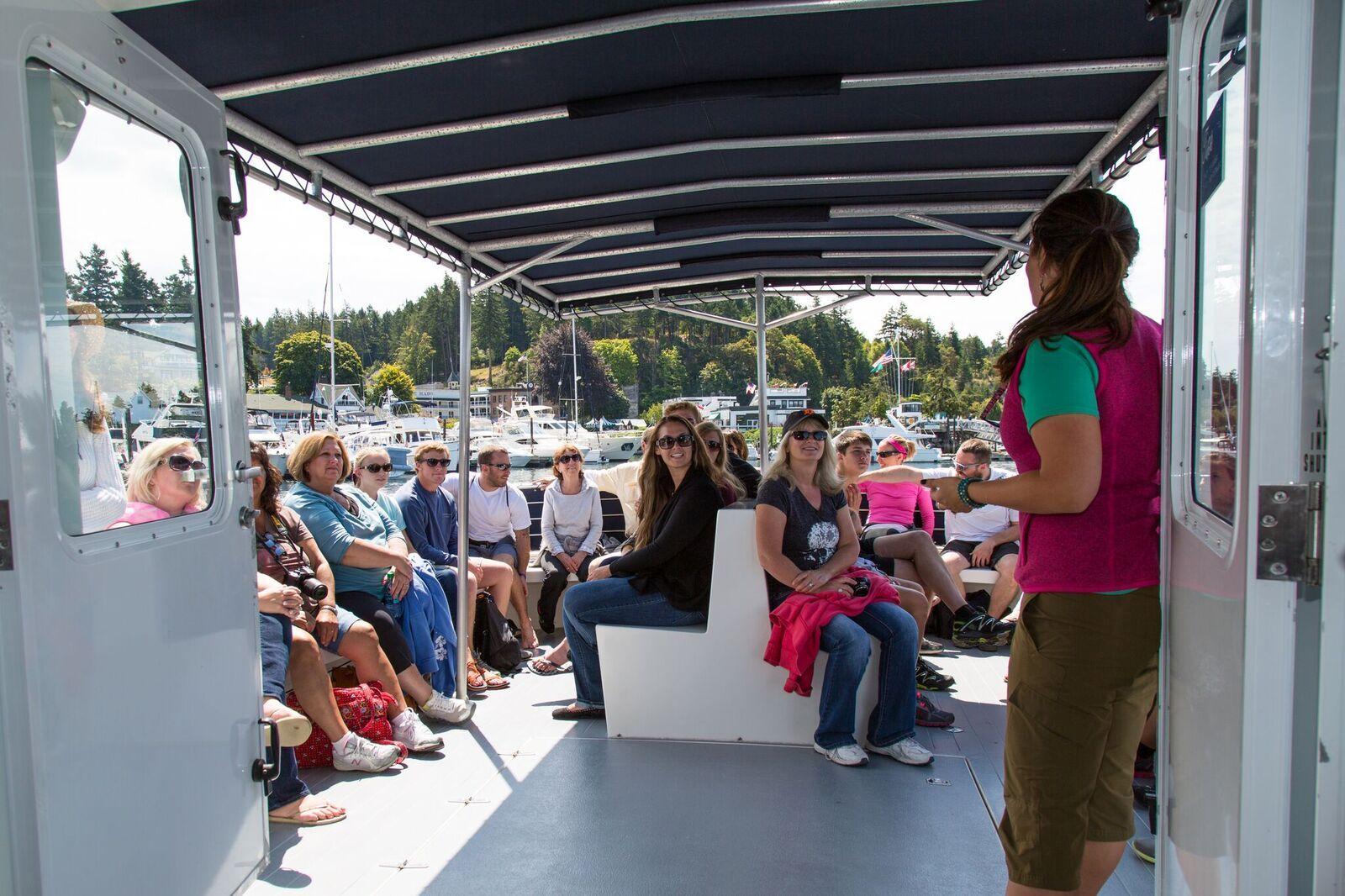 San Juan Safaris Meetings - Presentation on Sea Lion