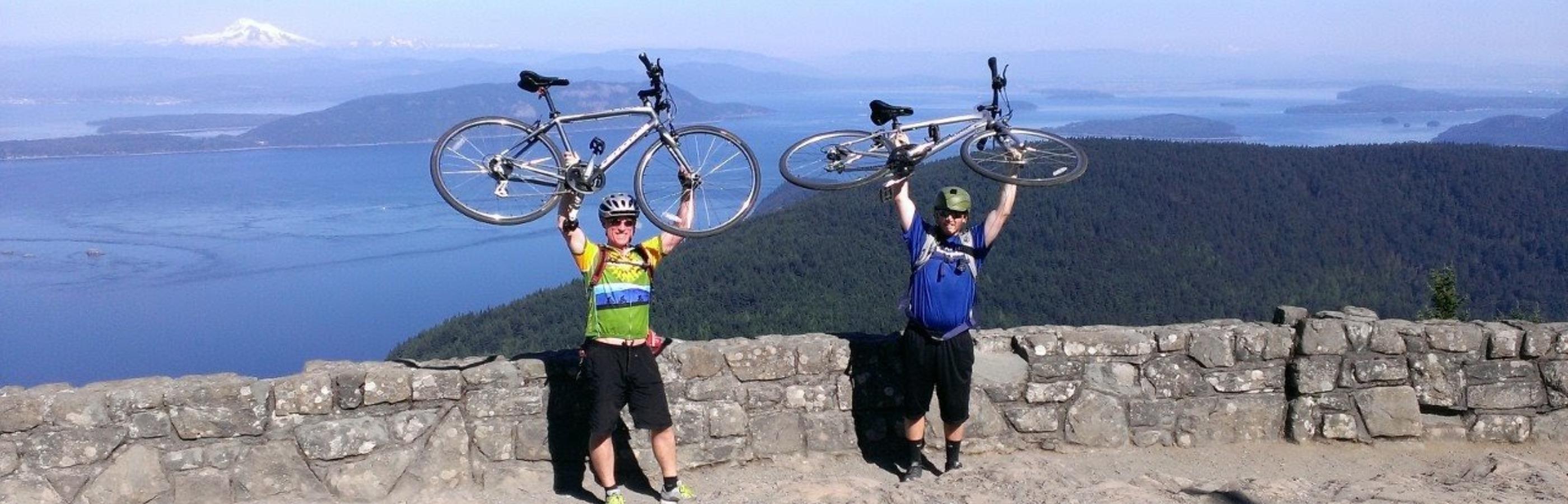bike trips in the San Juan Islands and Orcas Island