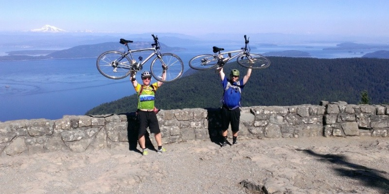 bike trips in the San Juan Islands and Orcas Island
