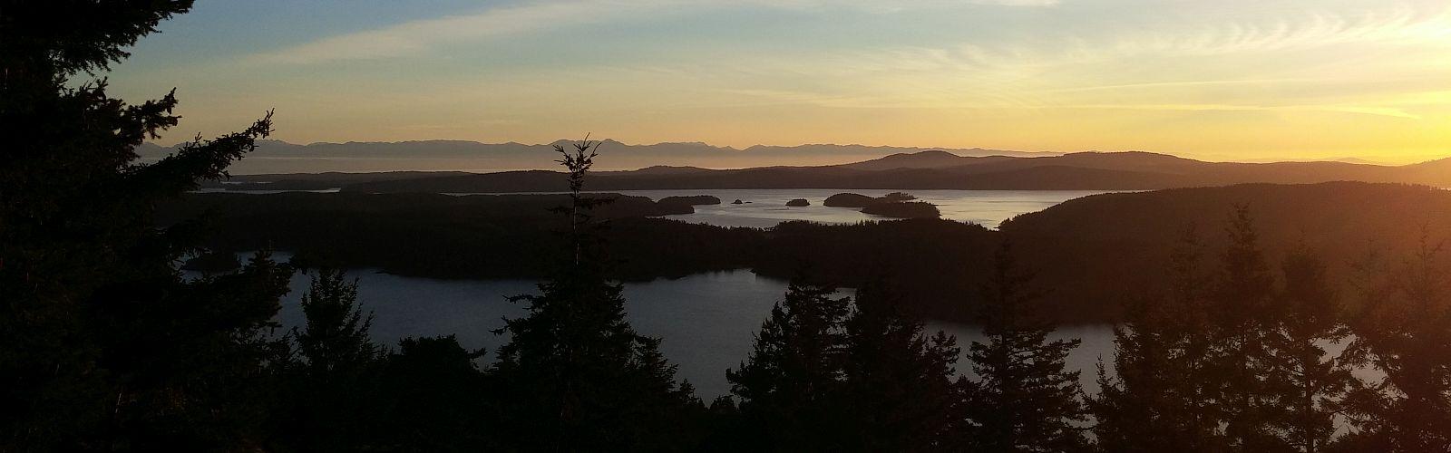 View from Turtleback Mountain Caroline Armon