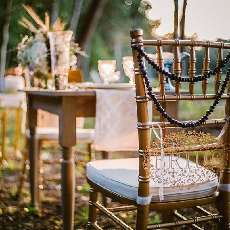 Orcasong Wedding Chair & Table