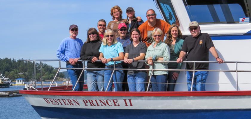 San Juan Islands Whale Watching, Friday Harbor, Washington